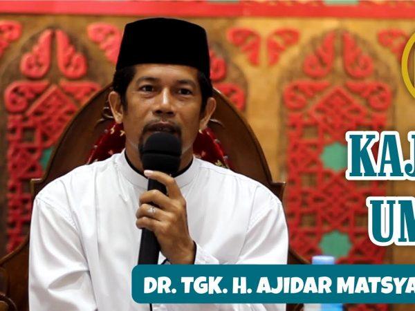 PERBAIKI CARAMU BERSEDEKAH (Dr. Ajidar Matsyah, Lc. MA)